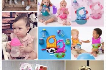 親子 澳洲 b.box × Disney 迪士尼 × HELLO KITTY 水杯、圍兜、吸管碗,適合的餐具讓寶寶一用就上手♥