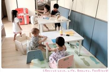 親子 愛兒館 ilovekids 我的第一張桌子 × 椅子 × 書櫃,可調式幼兒兒童成長桌椅,陪著孩子一塊兒長大♥ 團購