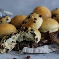 [Rezept] Nicht-Milchbrötchen - Rosinenbrötchen - Schokobrötchen (vegan)