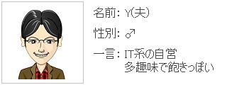 name:Y(夫)