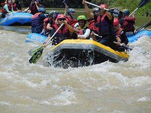 water rafting di kiulu