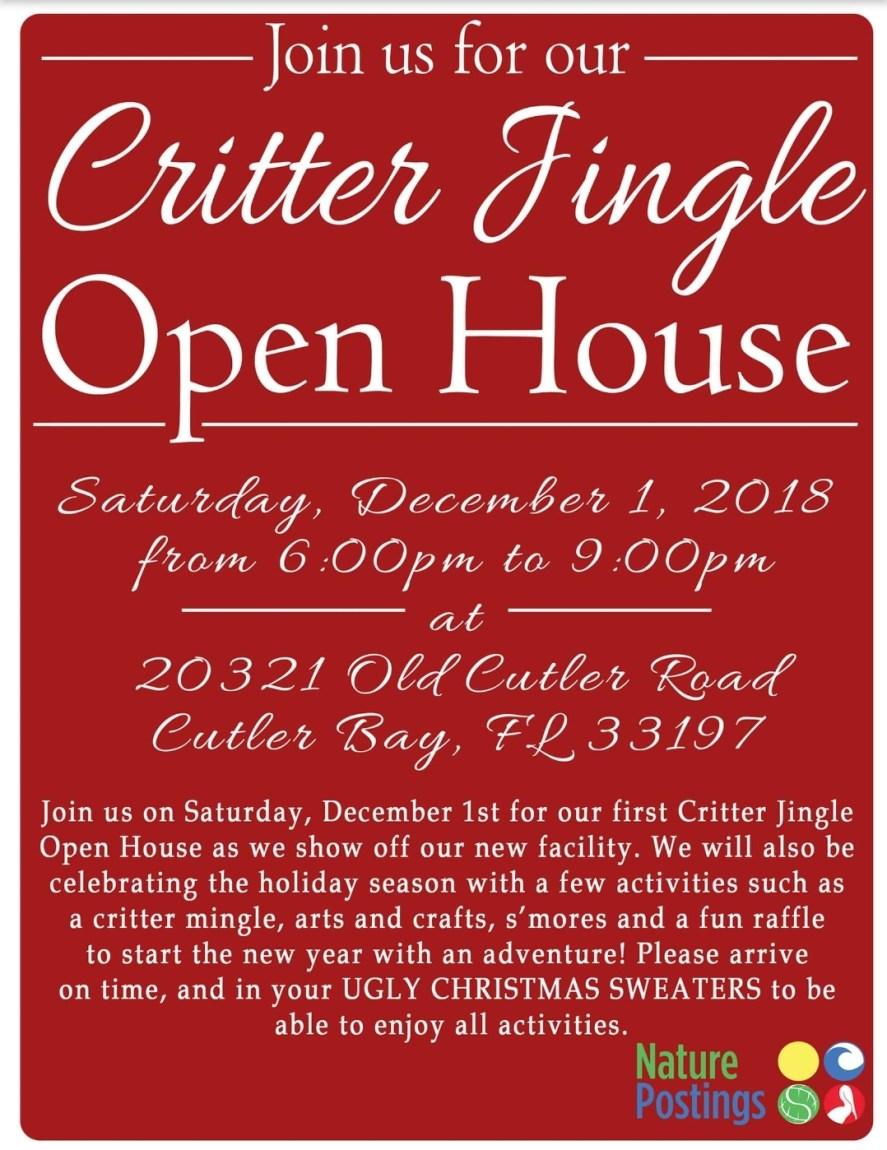 Critter Jingle Open House