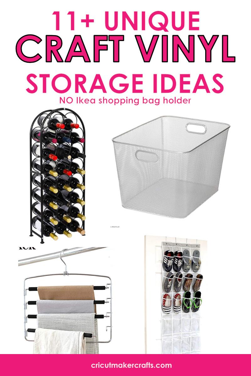11 Unique Craft Vinyl Storage Ideas Cut N Make Crafts