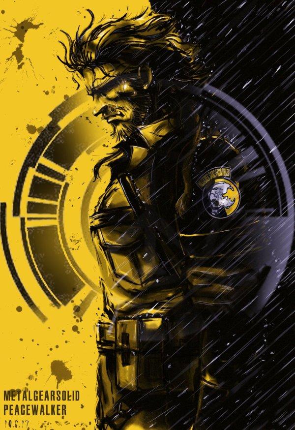 Metal Gear Solid Art Custommadedigitalart