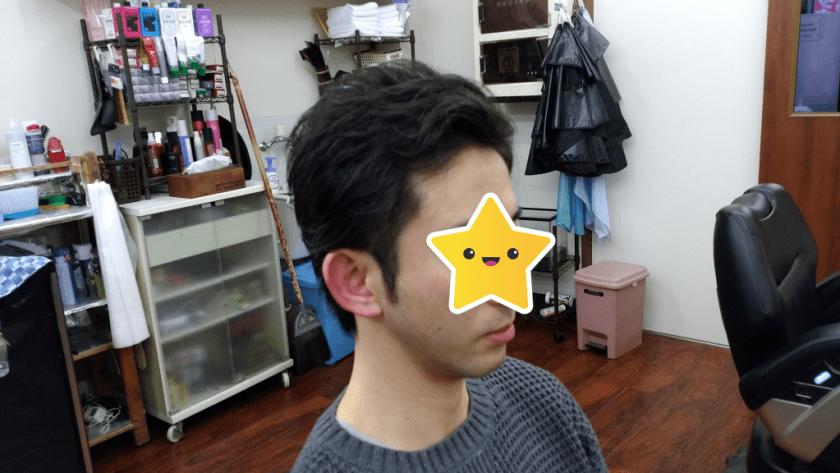 綾瀬駅メンズサロン・2ブロック&アップバングスタイル!