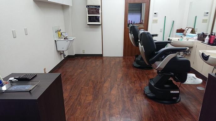 綾瀬駅近くで1番床の綺麗な理容室です(本日限り)2018冬
