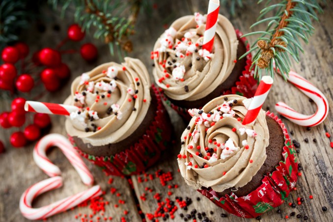 Christmas Cupcake Ideas | Cut Side Down- recipes for all