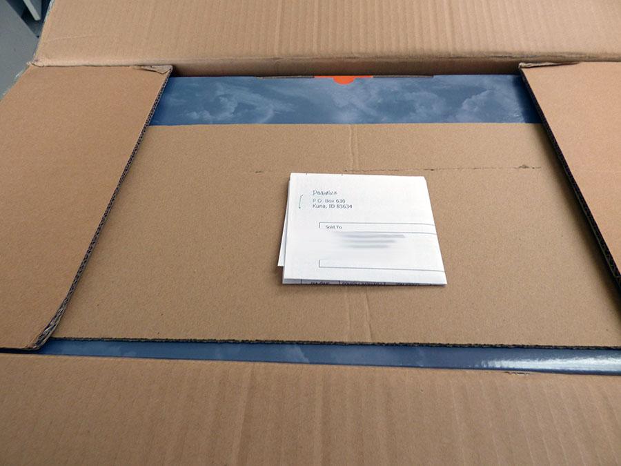 Packing Sheet