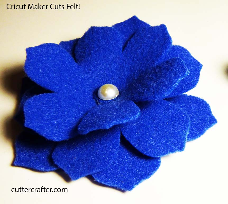 Will Cricut Maker Cut Felt