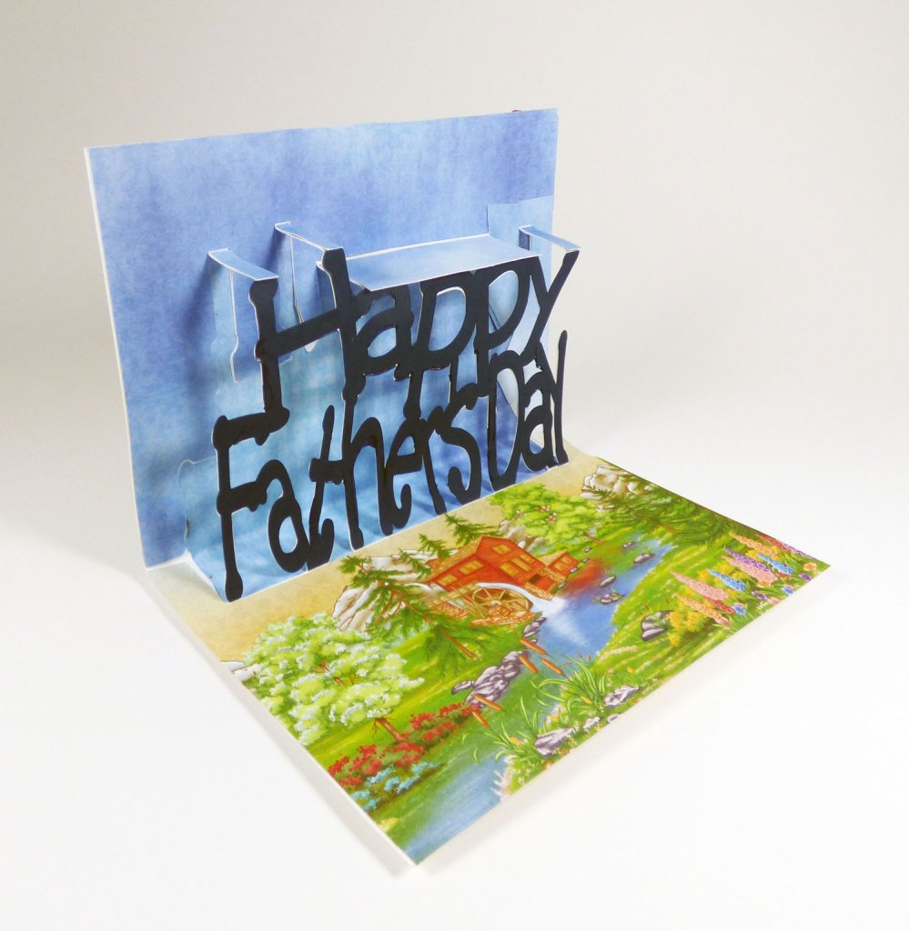 DIY Happy Father's Day Popup Card