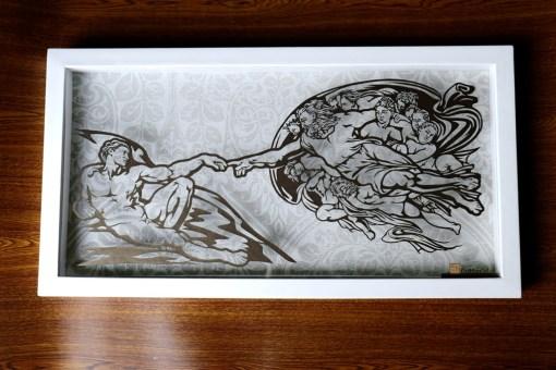 Cutteristic - Michelangelo Creation of Adam 1