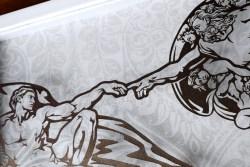 Cutteristic - Michelangelo Creation of Adam 7