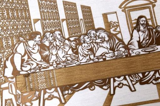 Cutteristic - Leonardo Da Vinci, Last Supper 2