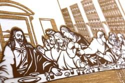 Cutteristic - Leonardo Da Vinci, Last Supper 7