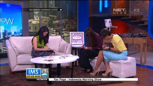 Cutteristic - Morning Show IMS Net TV, 25 Agustus 2014 14