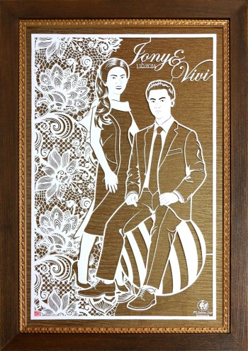 Cutteristic - Wedding Gift Jony Vivi Larutan Badak Dokter Toy 3