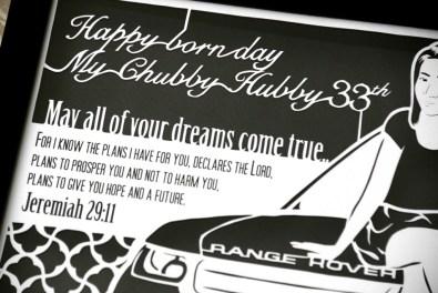 Cutteristic - Wedding Gift Range Rover 4