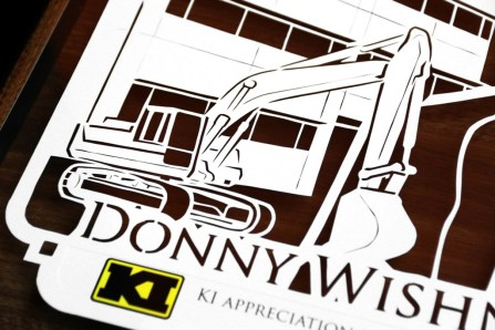 Cutteristic - Farewell Gift Komatsu Indonesia Donny Wishnu 4