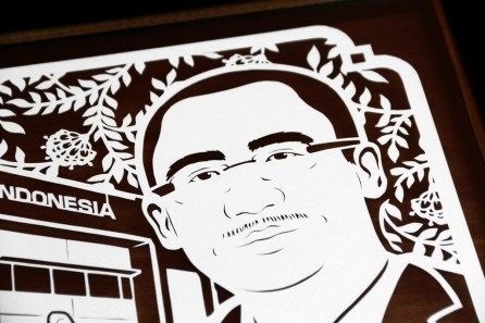 Cutteristic - Farewell Gift Komatsu Indonesia Donny Wishnu 5