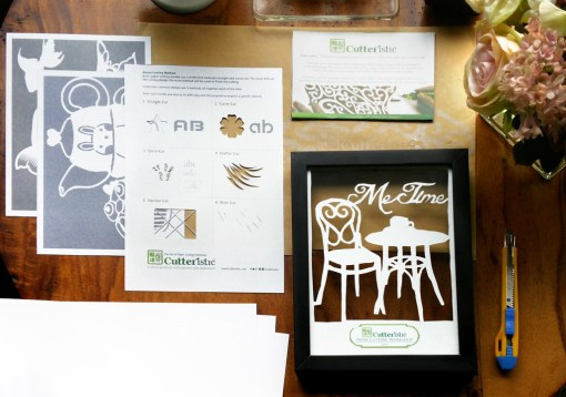 Cutteristic - Paper Cutting Starter Kit