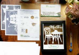 Cutteristic - Paper Cutting Starter Kit
