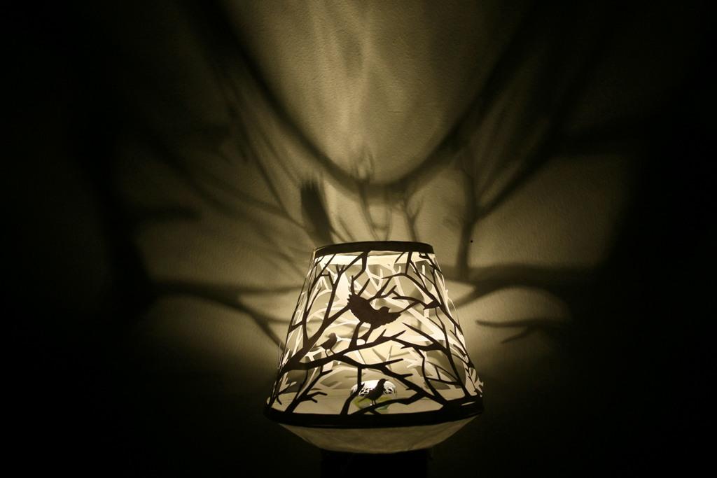 Cutteristic - Bird Forest Paper Cutting Lamp 3