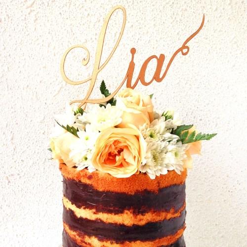 Cutteristic - Cake Topper Nama 5