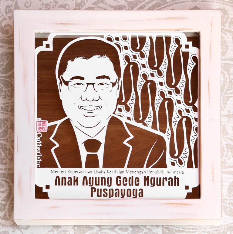 Cutteristic - Anak Agung Gede Ngurah Puspayoga Menteri UKM 6