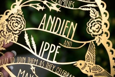 Cutteristic - Wedding Invitation Andien Ippe 2015 06