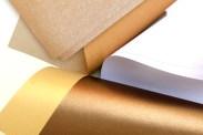 Cutteristic - Kertas Fancy Paper bronze gold white dark choco brown