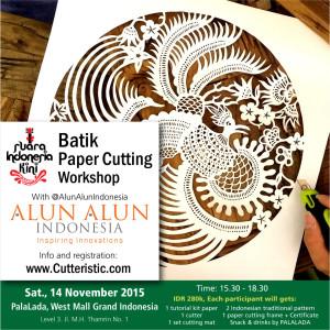 Workshop - Batik Paper Cutting Alun-Alun Grand Indonesia 1