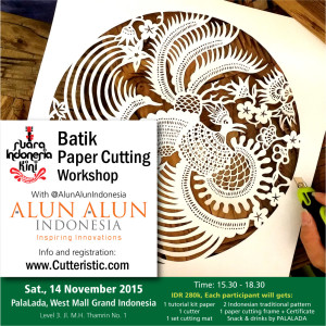 Workshop - Batik Paper Cutting Alun-Alun Grand Indonesia 1