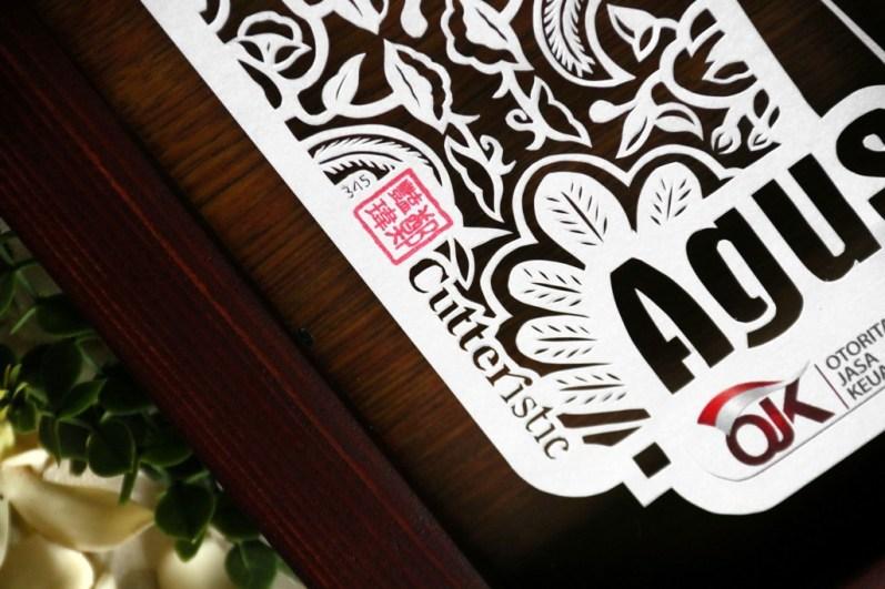 Cutteristic - Kado Farewell OJK Agus E Siregar 06
