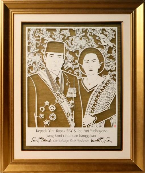 Cutteristic - Susilo Bambang Yudhoyono SBY Ani Yudhoyono, Didit Herdiawan 1