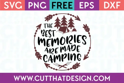 Download Free SVG Files | Camping Archives | Cut That Design