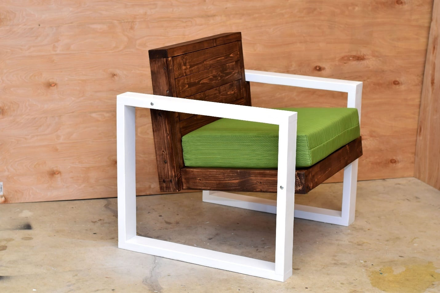 Modern Outdoor Chair How To Make Modern Outdoor Chairs Diy Project Cut The Wood
