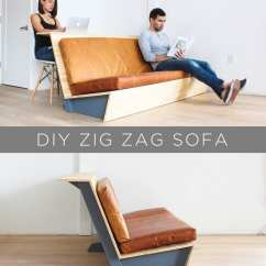 Making Your Own Sofa Table Turned Wooden Legs Uk How To Build A Modern Couch With Diy Project  Cut