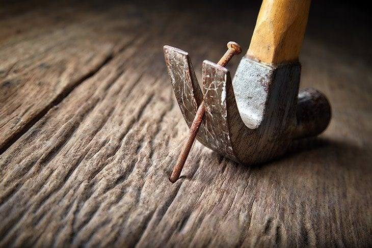 How to Remove Nails From Wood  Cut The Wood