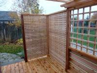 Deck Privacy Screen | Car Interior Design