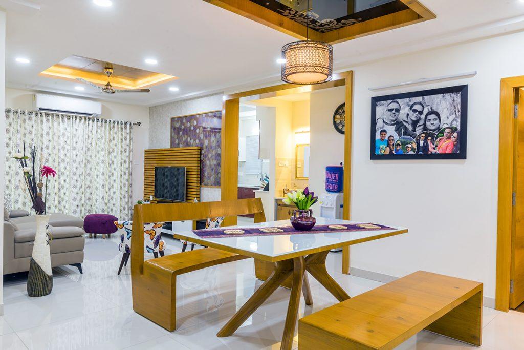 interior decoration of dining