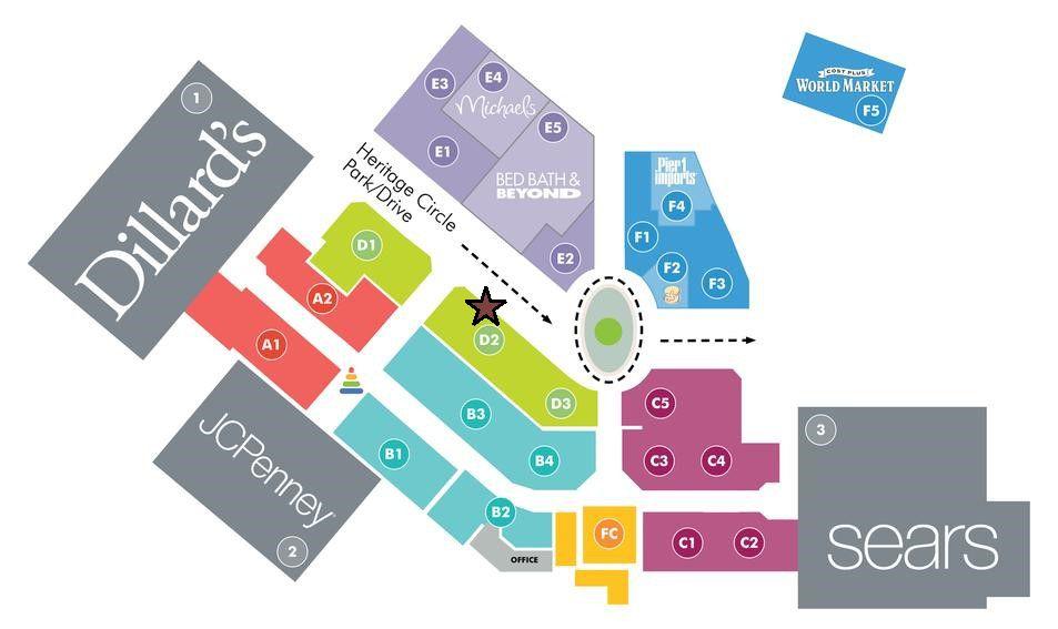 Prescott Gateway Mall Map