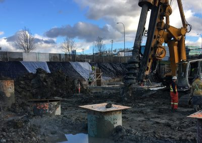 Henry Drilling Pile Foundation