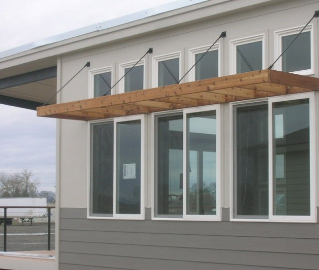 Wooden Window Awning Plans
