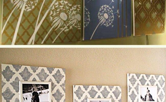 10 Stunning Diy Home Decor Stencil Projects Stencil Stories