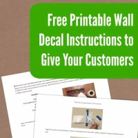 Free Printable Wall Decal Instructions for Your Silhouette ...