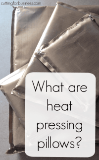Tutorial: How to Use Pressing Pillows in Your Heat Press ...