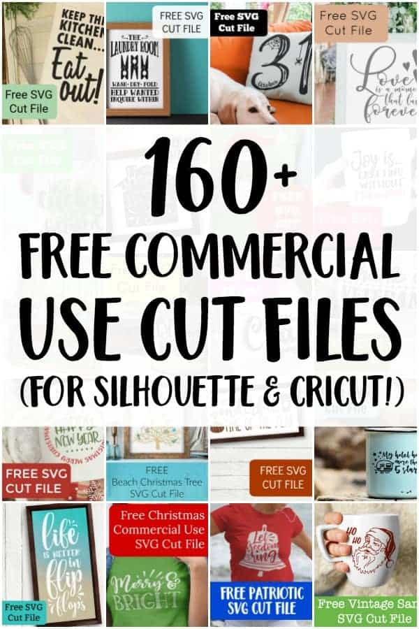 Download 160+ Free Commercial Use SVG Cut Files - Cutting for Business