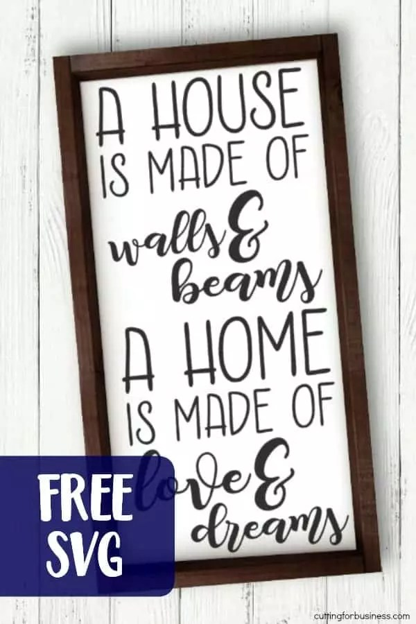 Download Free House Home Farmhouse Style SVG Cut File - Cutting for ...