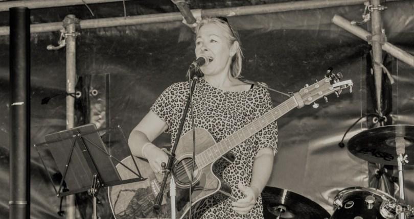 Tina - Cutting the Mustard, Band of 5, North Norfolk