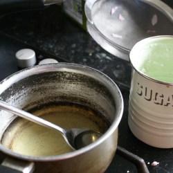 Sugar dissolving